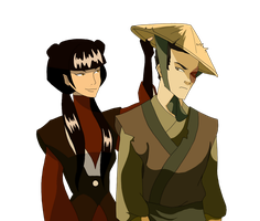 Mai and Zuko by Mayshha