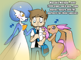My Luck with Masuda Method by DatBritishMexican