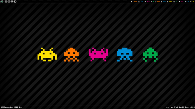 Color invaders by irenegr
