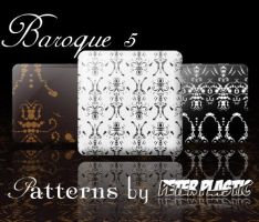 Baroque 5 Pattern by PeterPlastic