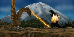 Godzilla vs King Ghidorah 1991 by MrJLM18