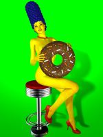 Marge pinups by scbr