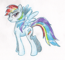Rainbow Dash by BenRusk