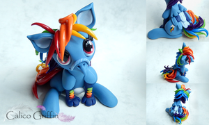 My Little Pony: Rainbow Dash Ponygriff by CalicoGriffin