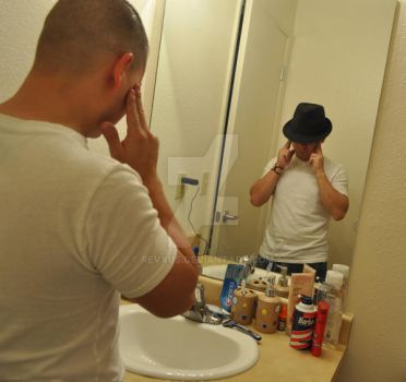 Man in the Mirror by revxus