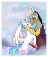 In The Rain by chocolateponi