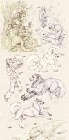 All The Things - sketch dump by Vattukatt