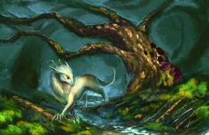 Enchanted forest WIP by Eliminate