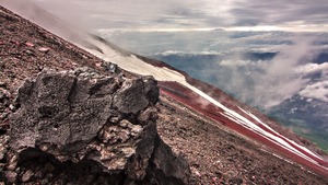 Hiking up Fuji by TimGrey