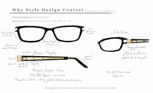 Y Design : Glasses # 2 by Lanaleiss