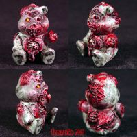 Killer Care Bear ROT BEAR OOAK by Undead-Art