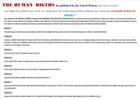 the human rights by harlan-heuker