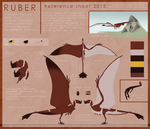 Ruber reference 2015 by TheDarkHyena
