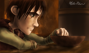 Hiccup and the Soup Bowl 8 by masterrohan