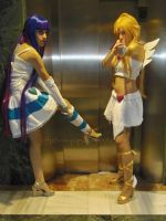 Hey dude! We are angels! by onlycyn