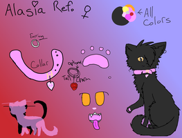 Alasia Reference by AnamayCat