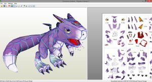 Dorumon Papercraft by ldsquillace