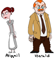 Alex's Parents Abigail and Herald by Misjudgment by Misjudgment-Memoiral