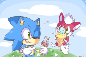 Ice Cream buddies by candiie--star