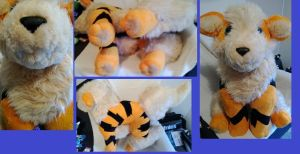 Huge Arcanine Plush by LRK-Creations