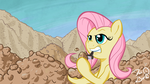 Fluttershy Likes Potatoes by FlavinBagel