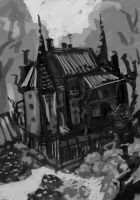 Speed painting manor by Eolkh