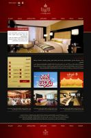 Hotel Web Interface by r-dowaik