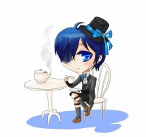 BlackButler: Tea time ::ANIMATED:: by TiiteMiissdu69