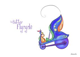 Butter Flycycle by Shiriel