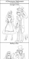 A Dramione Halloween by tae-