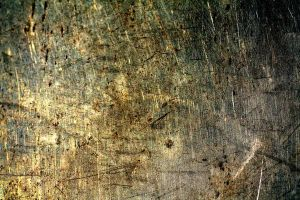 scratched gold metal texture by beckas