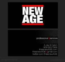 new AGE business card by rook-ir