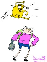 Finn And Jake and the LIKING by Darivonch420