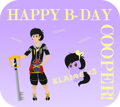 Happy Birthday Cooper! by CandySweets90240