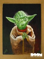Final Yoda Painting by DoomCMYK