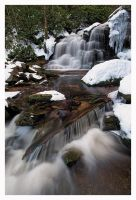 Winter on Shays Run by joerossbach