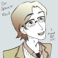 Dr. Spencer Reid by coconutpug