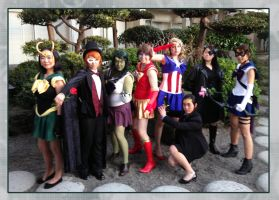 Sailor Avengers- Assemble! by Afterwinds