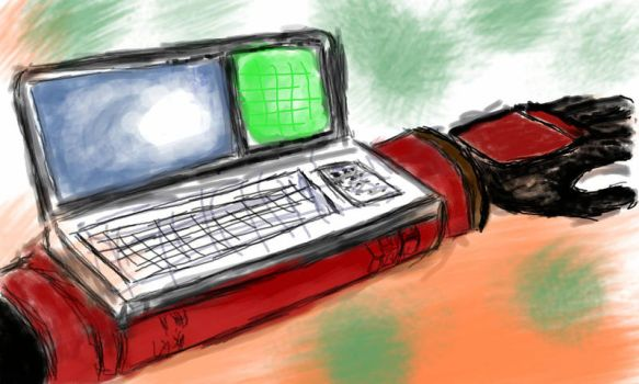 Arm computer (sketch) by Naxios10