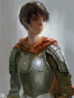 Casca - Berserk by beauviarts