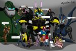 PlayStation and Transformers Easter celebration by Playstation-Jedi