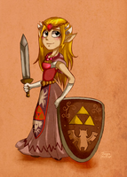 Zelda by FiestaTB