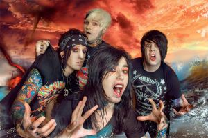 Falling in Reverse collab by laracroft