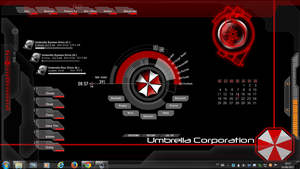 Umbrella Corporation Rogers1967 Rainmeter by Rogers1967
