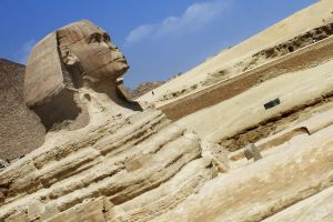 Giza Sphinx by EduGanster