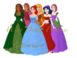 Winx Disney Princesses Group Pic by WinxGirl34