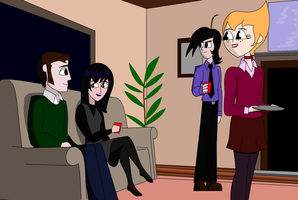 New Years at the Lunis house by soundwave3591