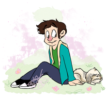 Toby and Gryphon by kaitlinxing