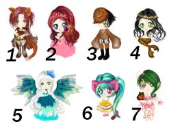 Chibi Adopts (OFFER TO ADOPT) by jancrafts