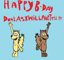 Happy B-day DontAskWillNotTell by Barricade9-1-1